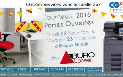 CGCom Services vous accueille aux JPO de Buro Conseil