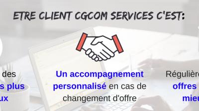 Vos avantages CGCOM Services